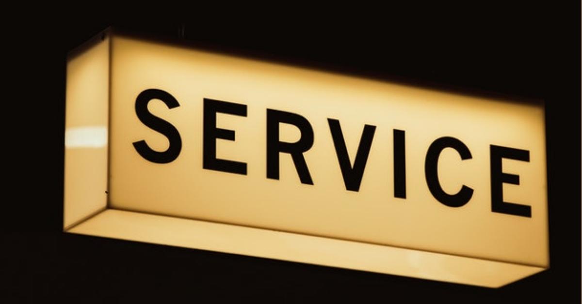 van service naar sales